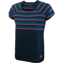 Tee-Shirt Adidas Junior Fille Prenium Marine