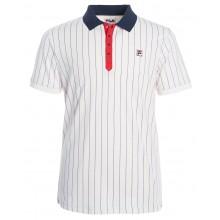 Polo Fila Club Stripes Polyester Blanc