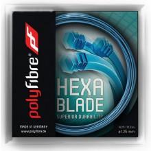 Cordage Polyfibre Hexablade Bleu