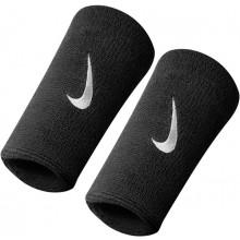 Serre Poignets Nike Double Largeur Noirs