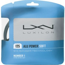 Cordage Luxilon Alu Power Soft Gris