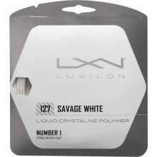 Cordage Luxilon Savage White (12 Mètres)