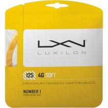 Cordage Luxilon 4G Soft Jaune