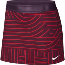 Jupe Nike Femme Court Dry Printed Rouge