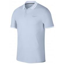 Polo Nike Court Advantage Practice Athletes Bleu