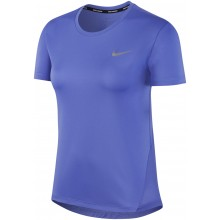 Tee-Shirt Nike Femme Miler Manches Courtes Violet
