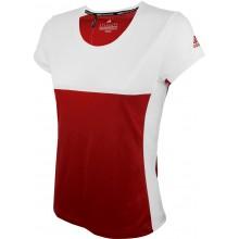 Tee-Shirt Adidas Junior Fille Team Rouge