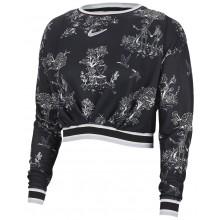 Tee-Shirt Nike Court Femme Dry Manches Longues Athletes Paris Noir