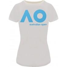 Tee-Shirt Femme Australian Open Logo Blanc