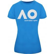 Tee-Shirt Femme Australian Open Logo Ciel