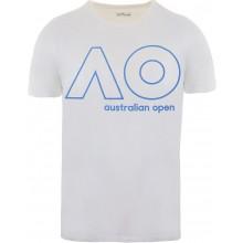Tee-Shirt Junior Garçon Australian Open Logo Blanc