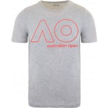 Tee-Shirt Junior Garçon Australian Open Logo Gris