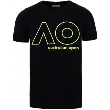 Tee-Shirt Junior Garçon Australian Open Logo Noir
