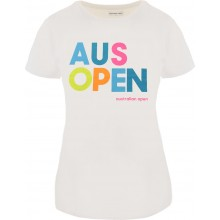Tee-Shirt Junior Fille Australian Open Play Blanc