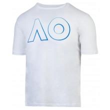 Tee-Shirt Junior Garçon Australian Open 2019 Logo Blanc