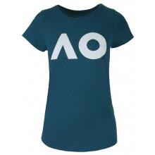 Tee-Shirt Femme Australian Open Logo Bleu