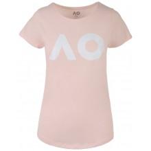 Tee-Shirt Femme Australian Open Logo Rose