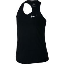 Débardeur Nike Fille Court Pure Noir