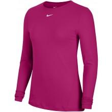 Tee-Shirt Nike Femme Pro Manches Longues Rose