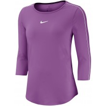 Tee-Shirt Nike Court Femme manches 3/4 Violet