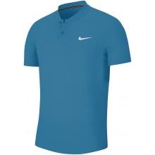 Polo Nike Court Dry Bleu