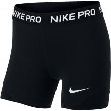 Short Nike Junior Fille Pro Noir