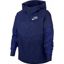 Veste Nike Junior Fille Sportswear Windrunner Marine