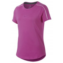 Tee-Shirt Nike Court Junior Fille Dry Rose