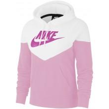 Sweat Nike Femme Windrunner Fleece à Capuche Zippé Rose