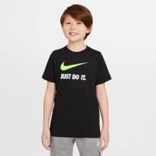 Tee-Shirt Nike Junior Just Do It Noir