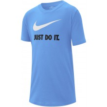 Tee-Shirt Nike Junior Just Do It Bleu