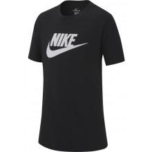 Tee-shirt Nike Junior Futura Icon Manches Courtes Noir
