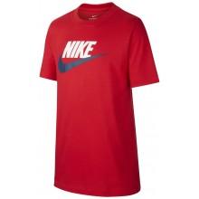 Tee-Shirt Nike Junior Futura Icon Manches Courtes Rouge