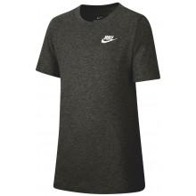 Tee-Shirt Nike Junior EMB Futura Manches Courtes Noir