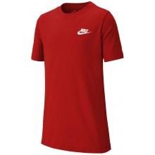 Tee-Shirt Nike Junior Futura Rouge