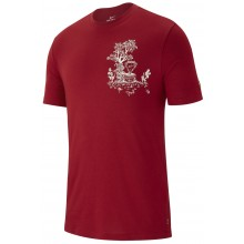 Tee-Shirt Nike Court Seasonal Rouge