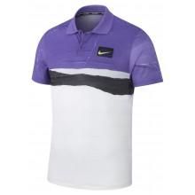 Polo Nike Court Advantage US Open Blanc