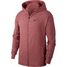 Sweat Nike Yoga à Capuche Zippé Rouge
