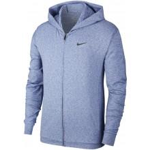 Sweat Nike Yoga à Capuche Zippé Bleu
