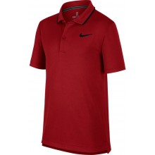 Polo Nike Court Junior Dry Team Rouge