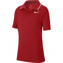 Polo Nike Court Junior Dry Team Bordeaux