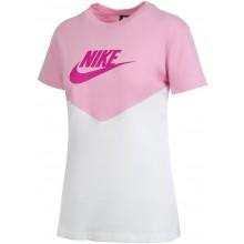 Tee-Shirt Nike Femme Heritage Vintage Manches Courtes