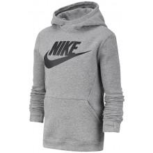 Sweat Nike Junior À Capuche Fleece Gris