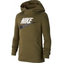 Sweat Nike Junior à Capuche Fleece Kaki