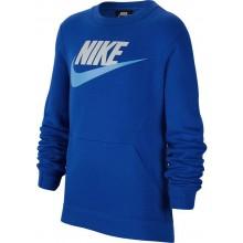 Sweat Nike Junior Ras Du Cou Bleu