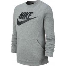 Sweat Nike Junior Ras Du Cou Gris
