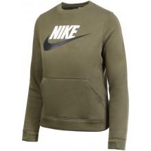 Sweat Nike Junior Ras du Cou Kaki