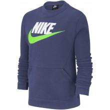 Sweat Nike Junior Ras du Cou Marine