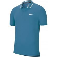 Polo Nike Court Dry Piqué Bleu