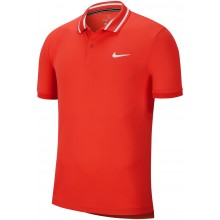 Polo Nike Court Dry Piqué Rouge
